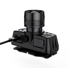 神火 强光远射头灯,伸缩调焦3w;HL50