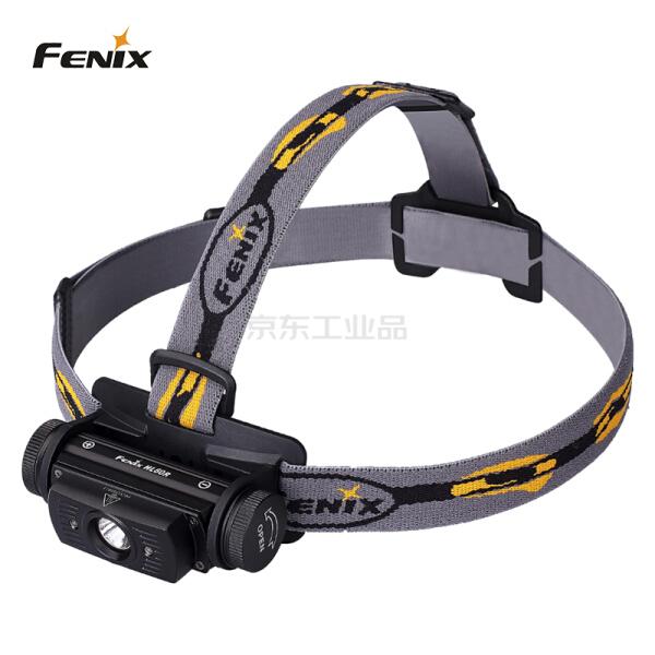 FENIX 防水可充电高亮双光源高性能户外头戴照明头灯 USB充电 多重配电方案;HL60R