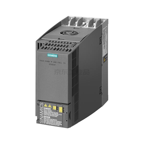 西门子 紧凑型变频器,不带内置滤波器 轻载5.5kW/重载4kW AC380-480V;6SL32101KE213UF1