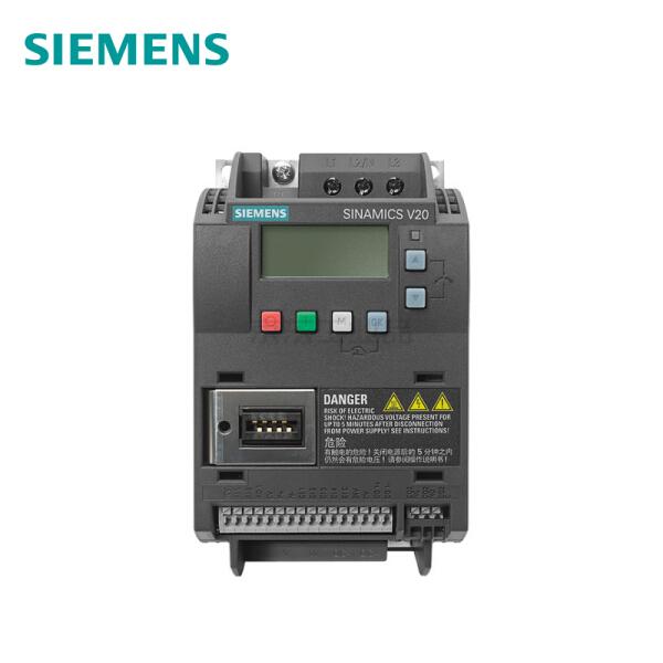 西门子 SINAMICS V20 3AC 380V变频器,无内置滤波器 0.75kW AC380-480V;6SL3210-5BE17-5UV0