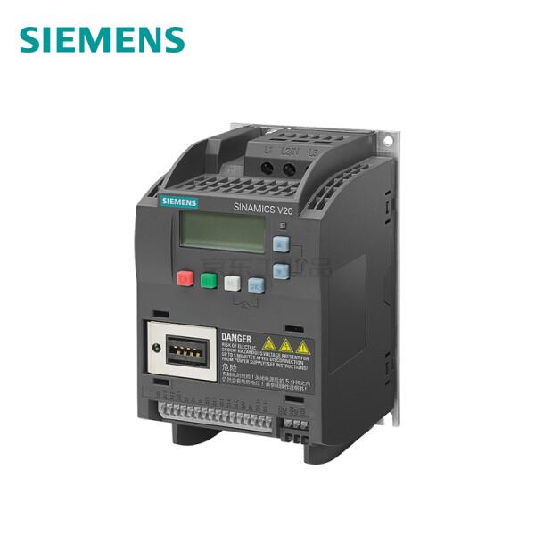 西门子 SINAMICS V20 3AC 380V变频器,无内置滤波器;6SL3210-5BE17-5UV0