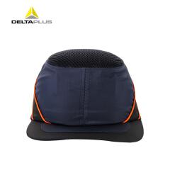 代尔塔 透气型防撞安全帽 劳保防护安全帽 尼龙材质(蓝色),20个/箱;102110-蓝色