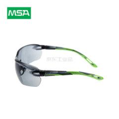 MSA梅思安 炫酷-G防护眼镜,黑色镜片,浅绿色镜脚;10167734