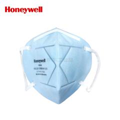 霍尼韦尔(Honeywell) 耳带折叠式戴防雾霾口罩,小蓝,10只/袋,50袋/箱;D7002-BU10