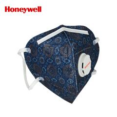 霍尼韦尔(Honeywell) 靓呼吸藏青方圈口罩带呼吸阀,5片/盒,48盒/箱;BC1