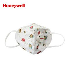 霍尼韦尔(Honeywell) 靓呼吸小清新玫瑰口罩带呼吸阀,5片/盒,48盒/箱;RS2