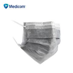 麦迪康(Medicom) 活性炭四层口罩,5只/包,10包/盒;2498