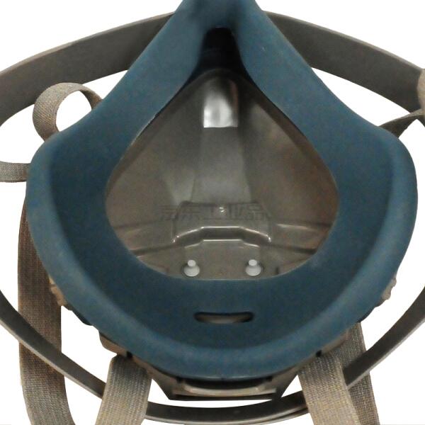 3M 6502QL 快扣硅胶半面型防护面罩中号,需搭配配件使用;6502QL