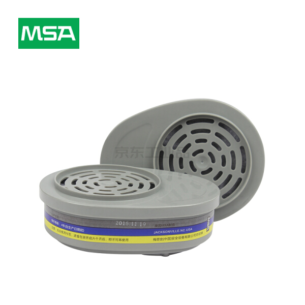 MSA梅思安 GMB滤盒,2个/包;10120743