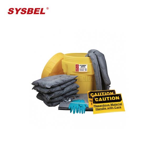 西斯贝尔 20加仑泄漏应急处理桶套装,通用型;SYK200
