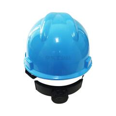 双利 V型ABS安全帽旋钮式,30顶/箱;SL-101-蓝