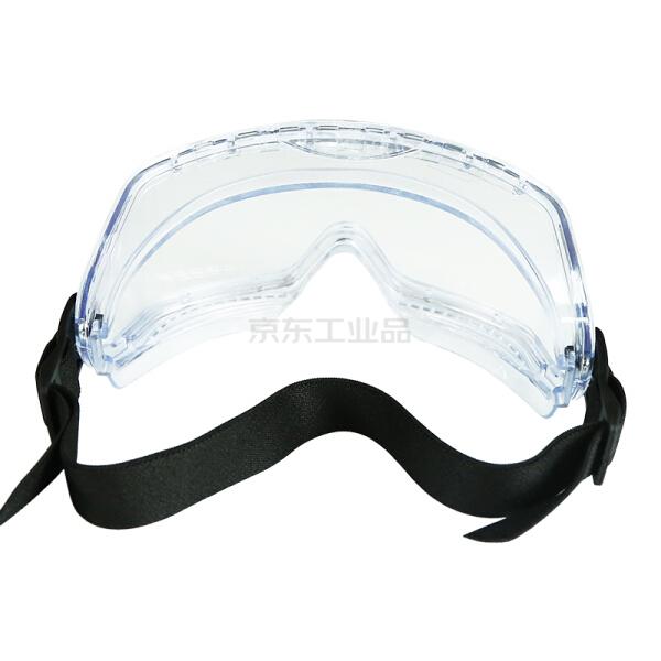 工盾坊 舒适款防冲击防化防雾,护目镜;D-2801-8088