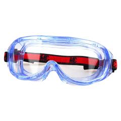 3M 护目镜 防雾防化;1623AF