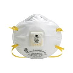 3M 8210V带阀颗粒物防护口罩 防雾霾口罩 防尘口罩