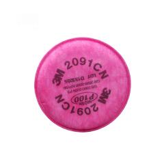 3M 2091 CN P100 颗粒物滤棉,2片/包;XA010015635