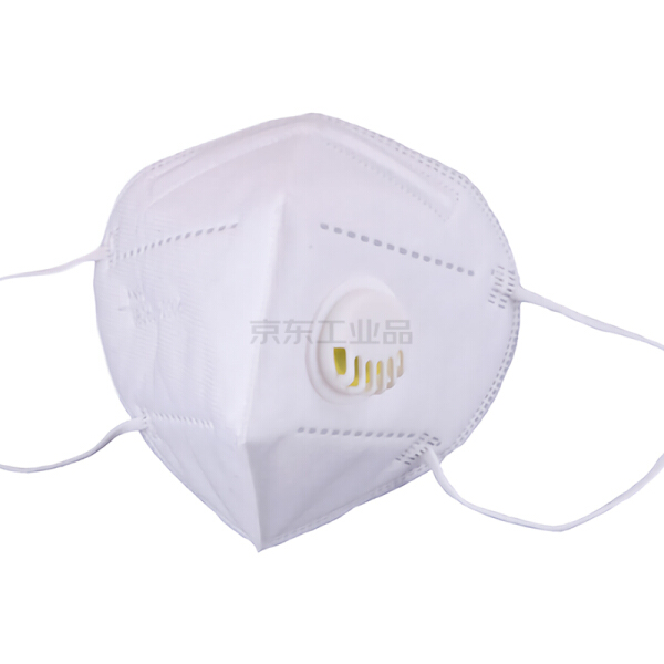 户方 KN95折叠耳带式带阀口罩(20只/盒),20只/盒,40盒/箱;HFKN95V