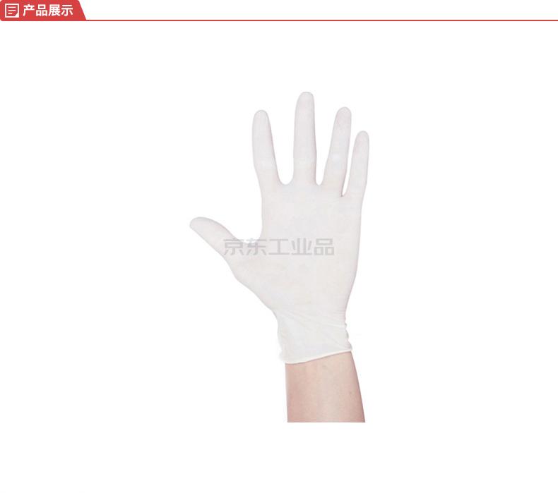 爱马斯(AMMEX) 一次性医用橡胶检查手套,无粉,中号,100只/盒,10盒/箱;TLFCVMD44100(CE认证,FDA,SGS)
