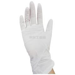 爱马斯(AMMEX) 一次性白色丁腈手套,无粉,小号,100只/盒,10盒/箱;APFWCMD42100