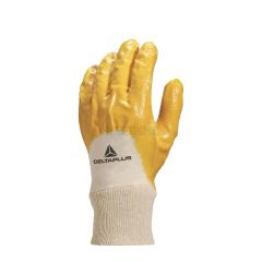代尔塔 NI015 涂层手套 手背透气轻型丁腈,10码;201015-黄色-10