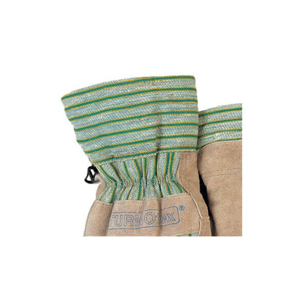 威特仕 保暖柔抗冻劳保手套,保暖柔牛二层芯皮掌抗冻劳保手套;10-2255-XL