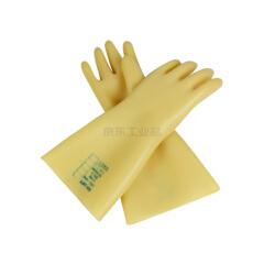 代尔塔 天然乳胶绝缘手套,工作电压30KV GLE3;207004-9