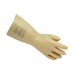 代尔塔 天然乳胶绝缘手套,工作电压20KV GLE2;207003-10