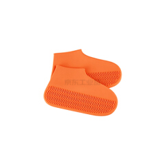 KeyRu 防水鞋套 加厚耐磨-S橙色