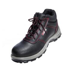 代尔塔 绝缘鞋 经典系列18KV高帮,防砸防刺穿,黑色 35码;301110-黑色-35