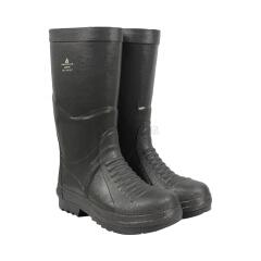 代尔塔 防化救援安全靴,防砸防刺穿耐酸碱耐高温,灰色40,5双/箱;301401-灰色-40