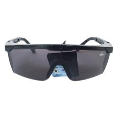 罗卡 防护眼镜 黑框,IR5.0(电焊片);LK-AL026-4-B