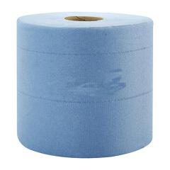 金佰利 WYPALL* L10中央抽取式擦拭纸(大卷式)蓝色,630张/卷,6卷/箱;7494