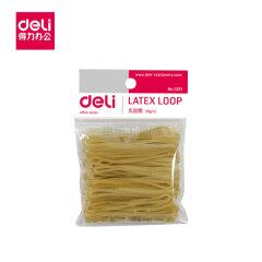 得力(deli) 办公用品 强韧性乳胶圈/橡皮筋/橡胶圈;3211