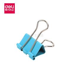 得力(deli) 彩色长尾票夹筒装(混)(12只/筒),12只/筒;8551ES混