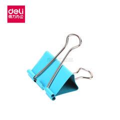 得力(deli) 彩色长尾票夹筒装(混)(24只/筒),24只/筒;8552ES混