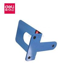 得力(deli) 铁书立-6寸(蓝)(2片/付);9271蓝