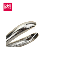 得力(deli) 手握式打孔机(银色);0114银
