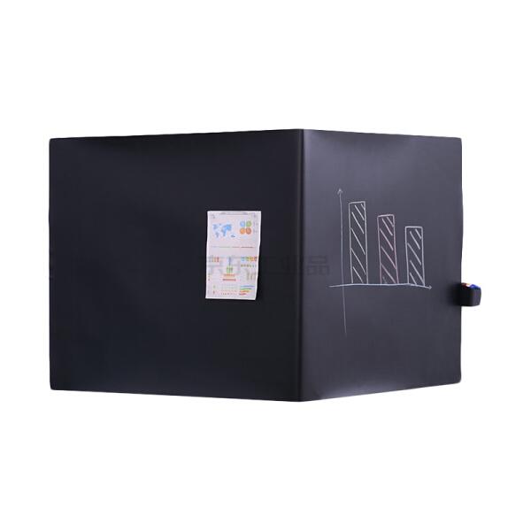 得力(deli) 磁性软铁黑板 教学黑板墙贴 50003带背胶;50003黑