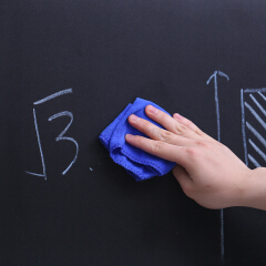 得力(deli) 磁性软铁黑板 教学黑板墙贴 50002带背胶;50002黑