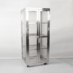 兆庭 仓储笼车 860*720*1900洁净室、无尘室适用;CT-WL041