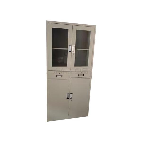 迪团 中二器 玻璃门文件柜 常规文件柜 1800*390*850mm;DT-WJG-CG0012