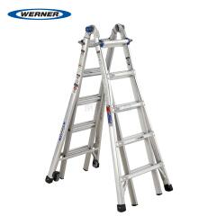 稳耐(WERNER) 铝合金伸缩式多功能梯(带脚轮);MTC-22CN