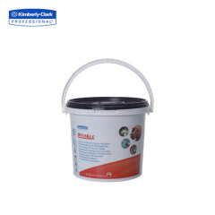 金佰利 WYPALL*预浸润清洁擦拭布(桶装式),90张/桶,6桶/箱;7775