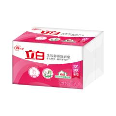 立白 全效馨香洗衣皂第二块半价200g*2块*18(1904);6920174742640