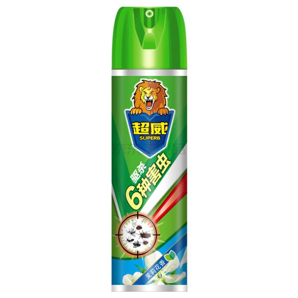 立白 超威 300毫升杀虫气雾剂(茉莉花香);6920174746372