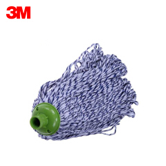 3M 思高 R3 棉线一拖净拖把,蓝白色;R3拖把