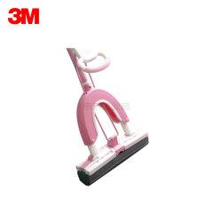 3M 思高 蝶彩胶棉拖把折叠挤水 头长27cm 粉色;W4