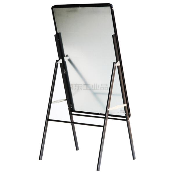 得力 7890_A型架夹纸白板900X600mm(黑)(块);7890
