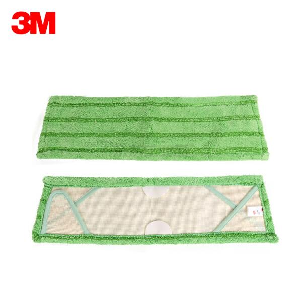 3M 思高 X1超轻灵动全铝洁地擦替换装(仅拖把布不带杆)绿色