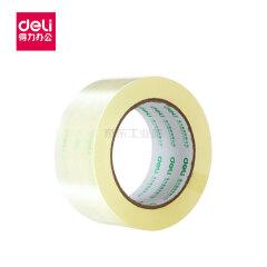 得力(deli) 封箱胶带48mmX100yX50um(6卷/筒);30205