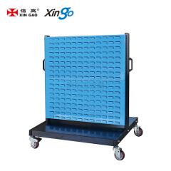 信高 移动型双面物料整理架(4百叶);KM-2204